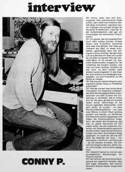 Conny Plank Interview 12/75